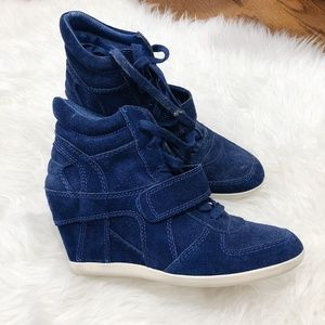 Ash wedge sneakers blue size 29